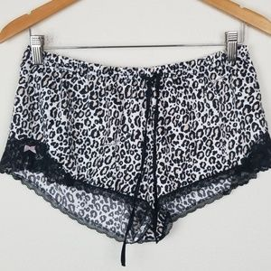 NWT Victoria's Secret SET Leopard shorts Cami Med